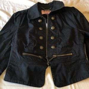 Juicy Couture military style jacket